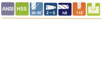 HSS 27//32 MT3 Taper Shank Drill