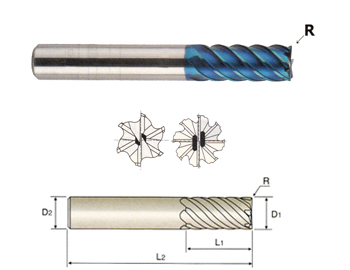 Uncoated Finish 17//64 Diameter x 6-1//4 Length YG-1 DL517 High Speed Steel Taper Length Drill Bit Parabolic Spiral Pack of 5 130 Degree Straight Shank